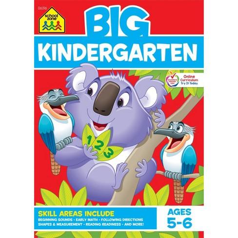 Big Kindergarten Workbook Ages 5 6 School Zone Target