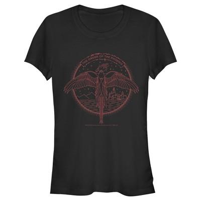 Junior's Harry Potter Order of Phoenix Flight T-Shirt