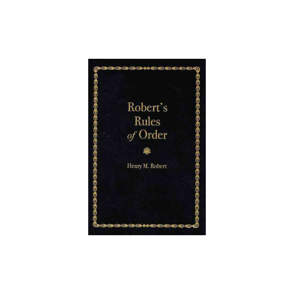 Robert's Rules of Order (Paperback) (Henry Martyn Robert)