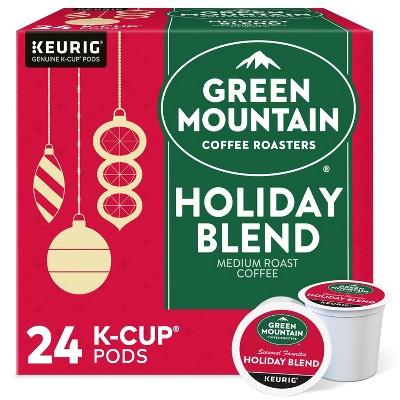 Green Mountain Coffee Holiday Blend Keurig K-Cup Coffee Pods - Medium Roast - 24ct