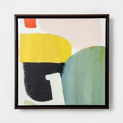 Abstract Framed Wall Art - Teal - Project 62™