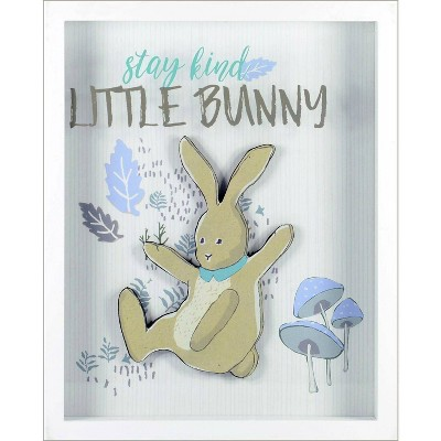 RoomMates Framed Wall Poster Prints Stay Kind Little Bunny
