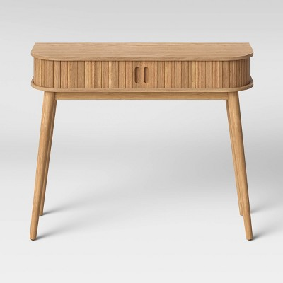 Adelpha Console Table with Sliding Doors Natural - Opalhouse™
