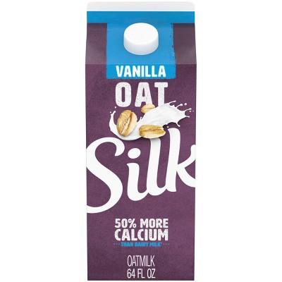 Silk Vanilla Dairy-Free OatMilk - 0.5gal