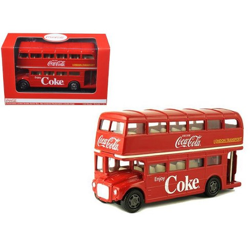 1960 Routemaster London Double Decker Bus Coca-Cola 1/60 Diecast Model by Motorcity Classics - image 1 of 1