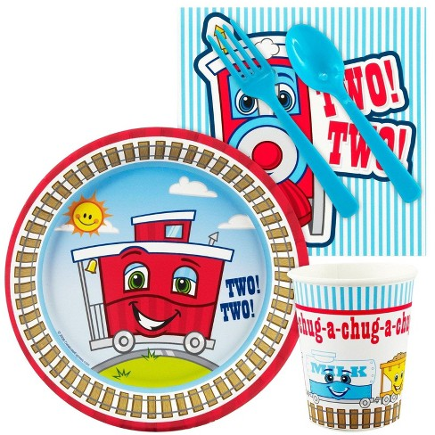 16ct Two-Two Train 2nd Birthday Snack Pack - image 1 of 1