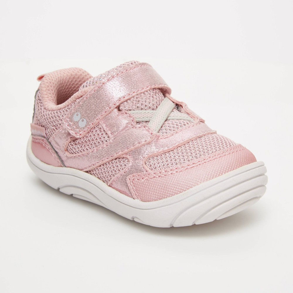 Image of Baby Boys' Surprize by Stride Rite Chase Sneakers - Light Pink 3, Toddler Boy's