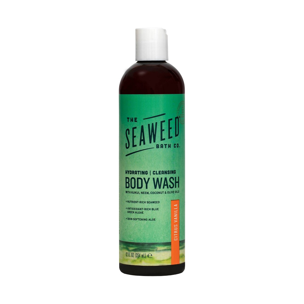 Image of The Seaweed Bath Co. Citrus Vanilla Body Wash - 12oz