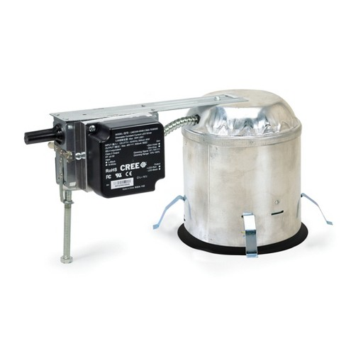 """Nora Lighting NHRM-612LE1 Remodel Housing for 6"""" Trim Size - Non-IC Rated - image 1 of 1"""