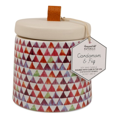 Container Candle Cardamom/Fig 10oz - Vineyard Hill Naturals by Paddywax - image 1 of 2