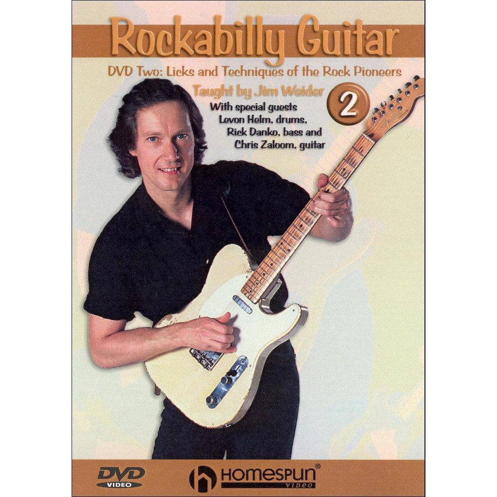 Rockabilly Guitar 2 (Dvd)
