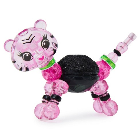 Twisty Petz Beauty S5  Lashes Tiger Collectible Bracelet with Lip Gloss - image 1 of 4