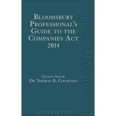 Bloomsbury Professional's Guide to the Companies ACT 2014 - (Hardcover) - image 1 of 1