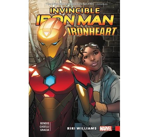 Invincible Iron Man Ironheart 1 : Riri Williams (Hardcover) (Brian Michael Bendis) - image 1 of 1