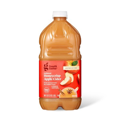 Honey Crisp Apple Cider - 64 fl oz Bottle - Good & Gather™
