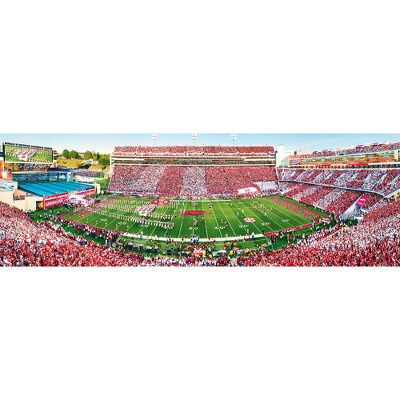NCAA Arkansas Razorbacks 1000pc Panoramic Puzzle