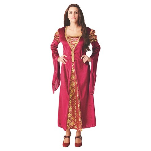 Women's Medieval Queen Costume Dress - image 1 of 1