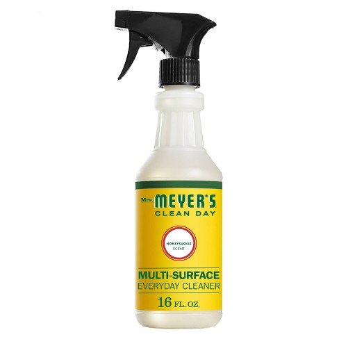 Mrs. Meyer's Clean Day Honeysuckle Scent Multi-Surface Everyday Cleaner - 16oz - image 1 of 4