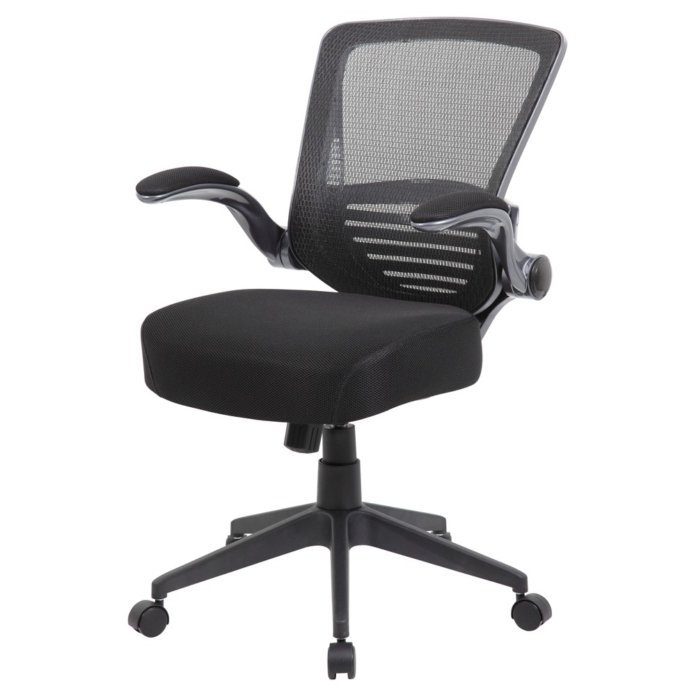 Contemporary Mesh Task Chair Black - Boss