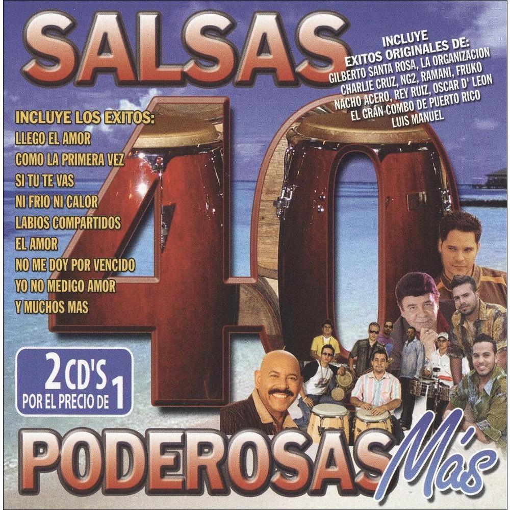 Various - 40 salsas poderosas mas (CD)