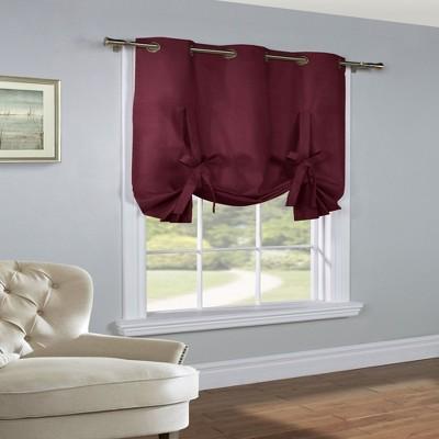 Thermalogic Prescott Alcove Insulating Room Darkening Fabric 40 X 63 Tie Up Panel