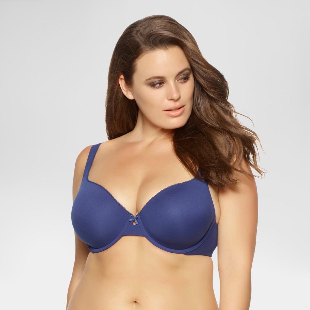 Paramour Women's Sensational T-Shirt Bra - Estate Blue 32D