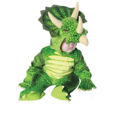 Underwraps Costumes Green Triceratops Plush Child Costume