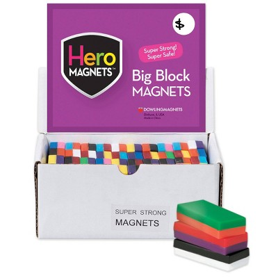 40pk Hero Magnets Block Magnets - Dowling Magnets