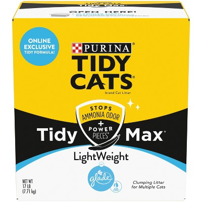 Tidy Cats Max Glade Clear Spring Lightweight - 17lb