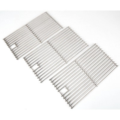 3pk Stainless Steel Cooking Grids - Monument Grills