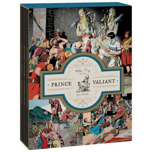 Prince Valiant Vols. 7-9 Gift Box Set - by  Hal Foster (Hardcover) - image 1 of 1