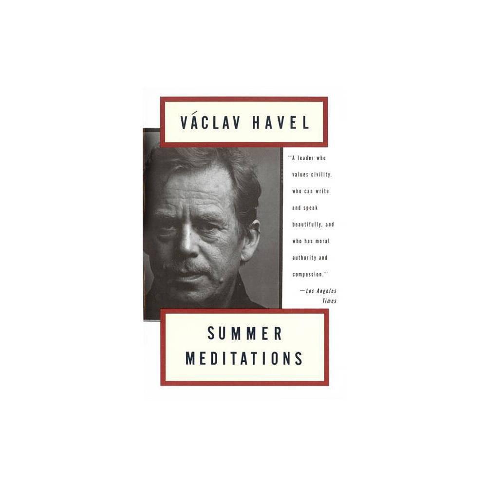 Summer Meditations By Vaclav Havel Paperback