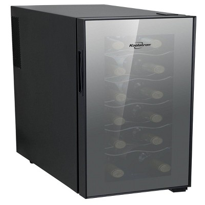 Koolatron 12-Bottle Thermo-Electric  Wine Cooler - White