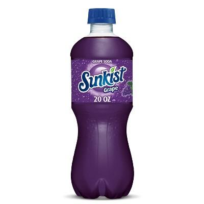 Sunkist Grape Soda - 20 fl oz Bottle