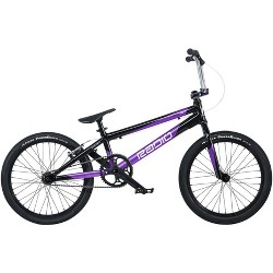 "Radio Xenon Pro XL BMX Race Bike - 21.25"" TT, Black/Metallic Purple"