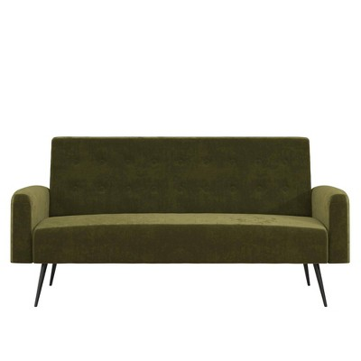 Stevie Futon Convertible Sofa Bed and Couch - Z By Novogratz