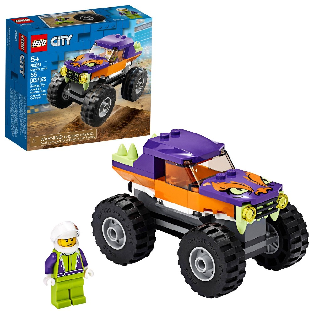 LEGO City Monster Truck Building Set 60251