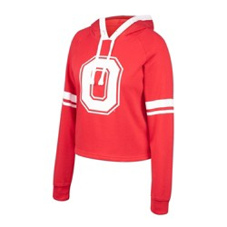 NCAA Ohio State Buckeyes Women's Long Sleeve Performance Hoodie