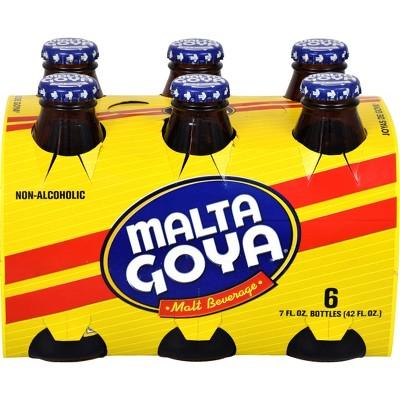 Malta Goya Malt Beverage - 6pk/7 fl oz Glass Bottles