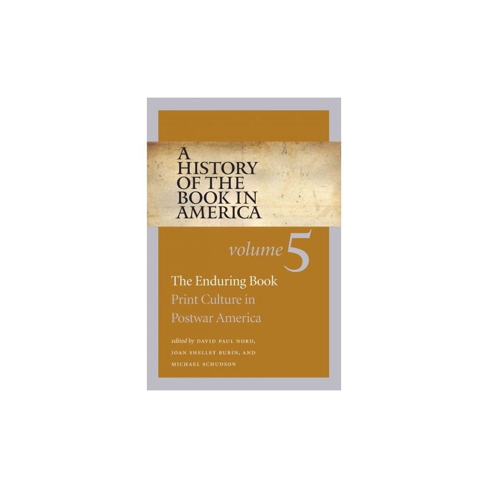 A History of the Book in America (5) (Paperback)