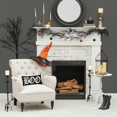 """C&F Home 12"""" X 24"""" Boo Hooked Pillow : Target"""