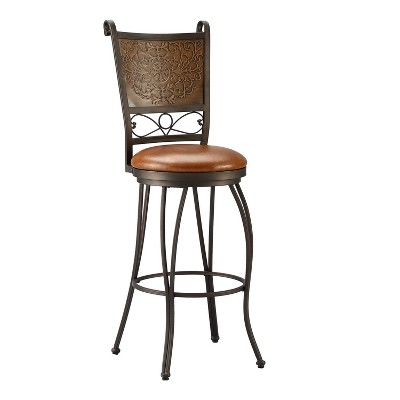 "30"" Jacob Copper Stamped Barstool - Powell Company"