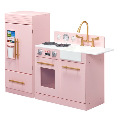 Teamson Kids Urban Luxury Play Kitchen - Pink