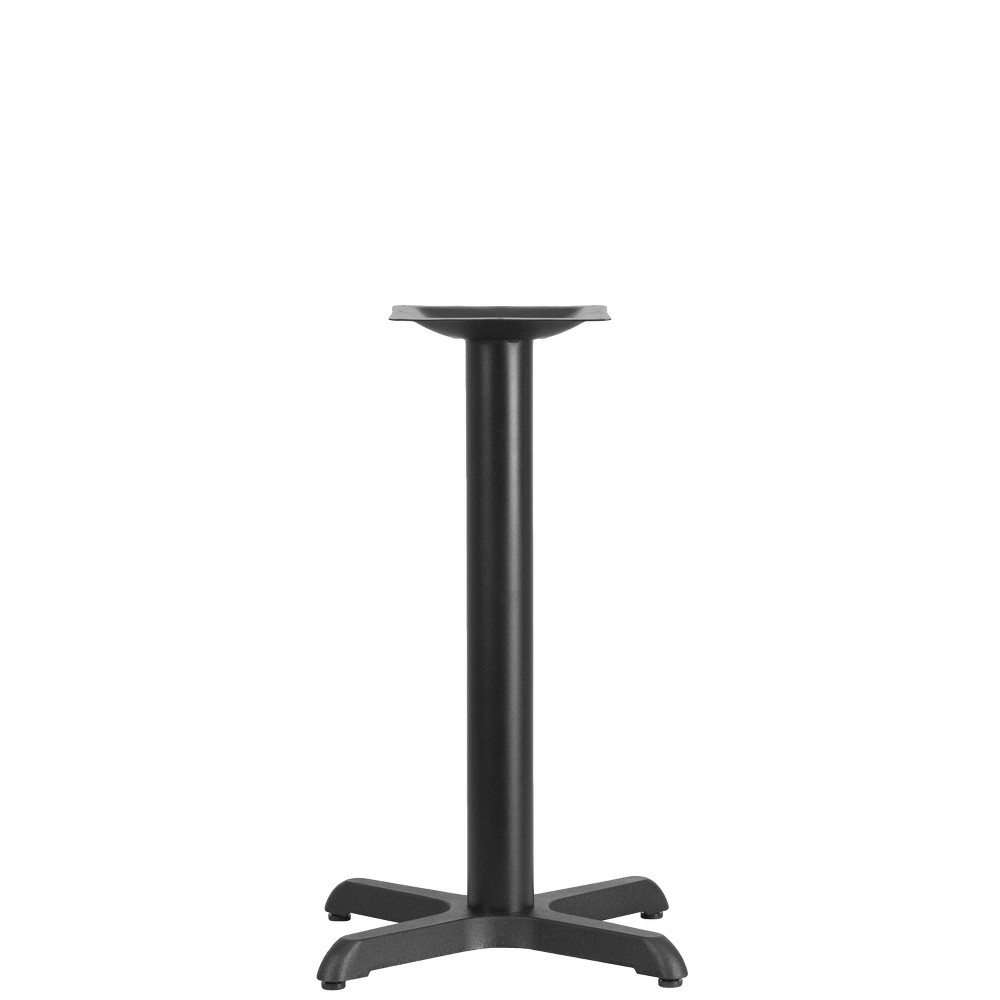 Image of Table Height X Base Black - Riverstone Furniture Collection