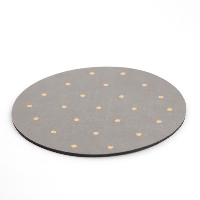 Mousepad, Pink with Gold Dots - Threshold™