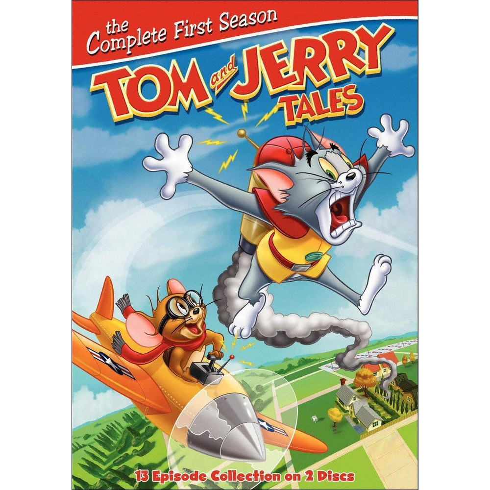 Tom and Jerry Tales: The Complete First Season (2 Discs) (dvd_video)