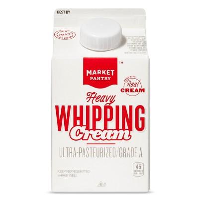 Heavy Whipping Cream - 1pt - Market Pantry™