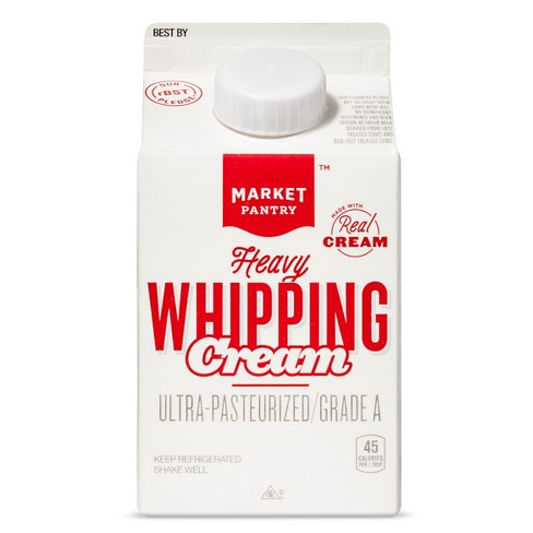Heavy Whipping Cream - 1pt - Market Pantry™ - image 1 of 1