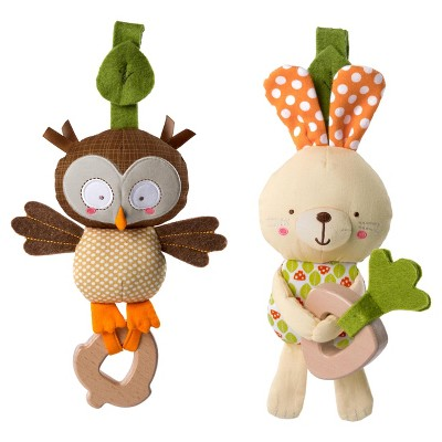 Bright Starts™ Simply Bright Starts™ Teethe & Take Forest Pal Toys
