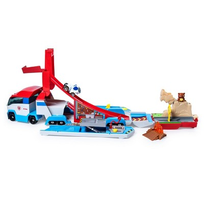 PAW Patrol Launch'N Haul Patroller Transforming Track Set